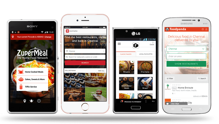 Restaurant app development create an ordering that