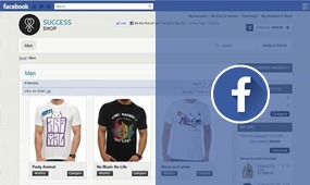 traffic from facebook store