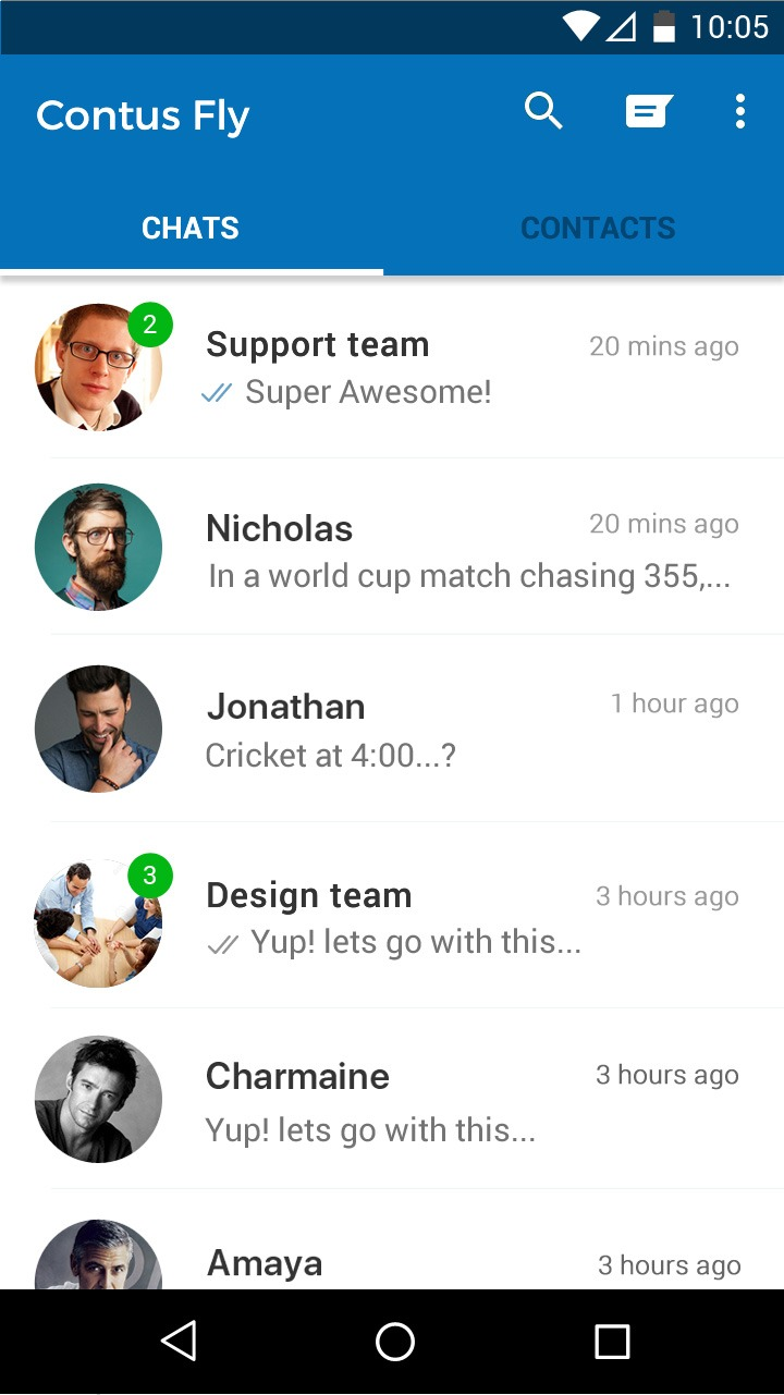 Centralized Chat App Management