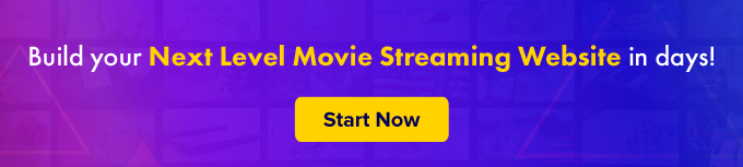 build movie streaming website