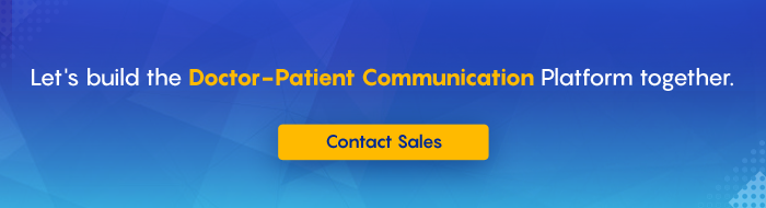 Doctor patient chat application