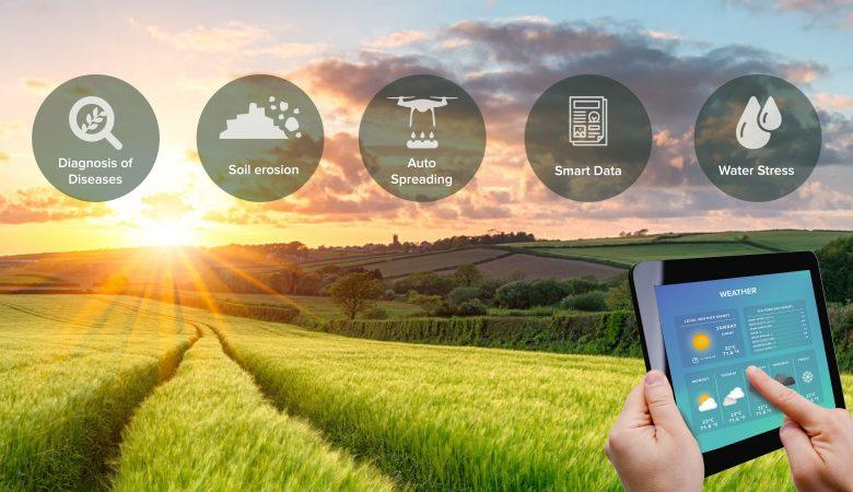 IoT Based Smart Agriculture System to Scale up the Productivity