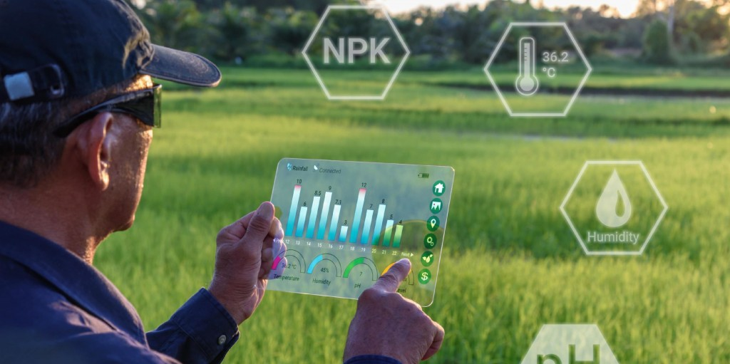 IoT sensors for smart agriculture