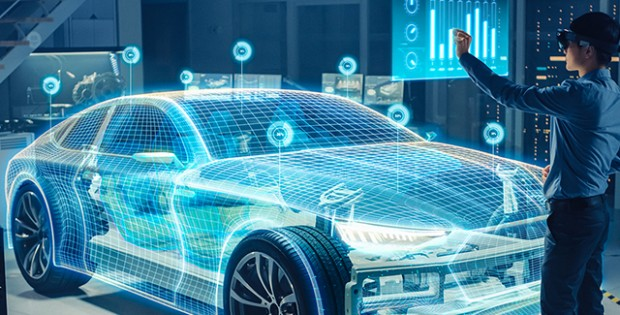 Electric vehicle digital twin