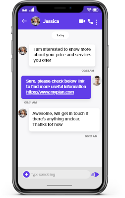 messaging api for in app chat