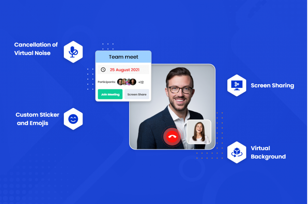 video chat app features